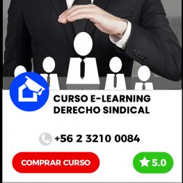 Curso E-learning de Derecho Sindical