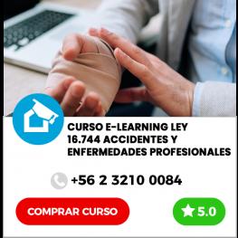 Curso E-learning Ley 16.744 Accidente y Enfermedades Profesionales